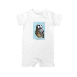 アフリカオオコノハズク Baby rompers