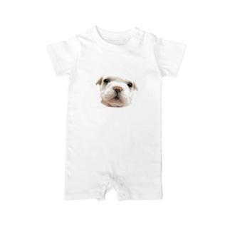 フレンチブルドッグA 子犬 ベイビーロンパース