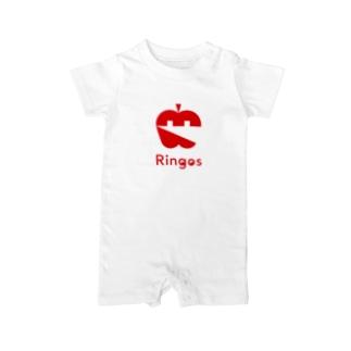 Ringos(リンゴズ) ・アイコン ベイビーロンパース