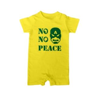 NO CAPTAIN☆AFRICA NO PEACE ベイビーロンパース