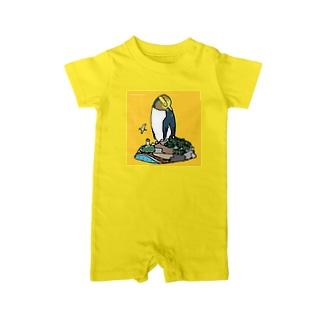 キガシラペンギン ベイビーロンパース