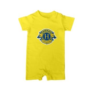 ハイエナズクラブロゴ(2016) Baby rompers
