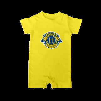 ハイエナズクラブのハイエナズクラブロゴ(2016) ベイビーロンパース