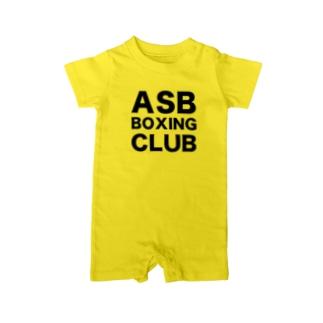 ASB BOXING CLUBのオリジナルアイテム ベイビーロンパース