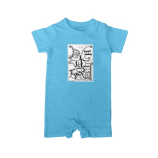 LOVE THE  EARTH Baby rompers
