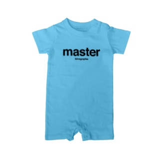 MASTER & SLAVE Baby rompers