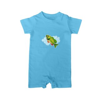 notteのfish Baby rompers