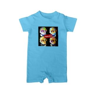 Tano.C.S (たのしーさーby沖縄) Baby rompers
