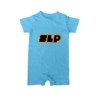 SLP★【イエローロゴ】 Baby rompers