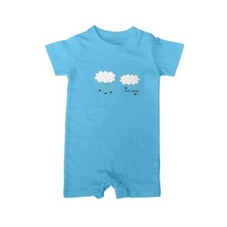 cloud spider 「雲から蜘蛛」 Baby Rompers