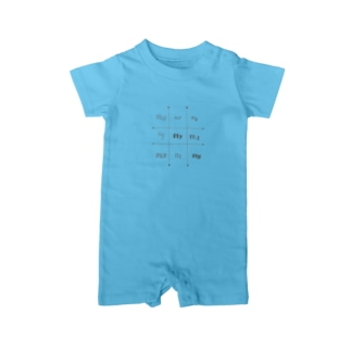fly#birdlover Baby rompers