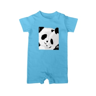 PANDA COMPLEX パンダ頭複合体 Baby rompers