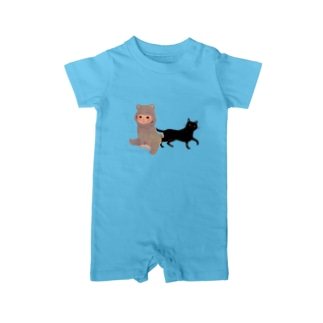 BearBaby&Cat Baby rompers