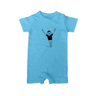【KUFC】 'Winning' Yutaka Tanoue T-SHIRT Baby rompers