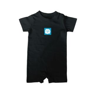 ロゴデザイン。グッズ!カラー多数!! Baby rompers