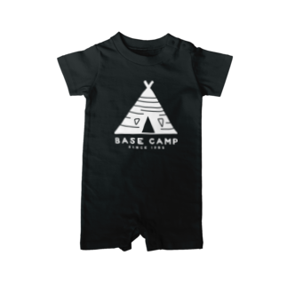 BASE-CAMPのBASE テント 01 WHITE Baby rompers