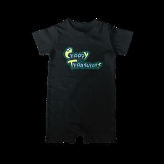 Creepy Treasures!のCreepy Treasures! Logo Baby rompers