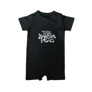 ロゴデザイン(白ロゴ) Baby rompers