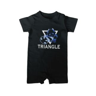 パンダプロレス 三角絞め Baby rompers