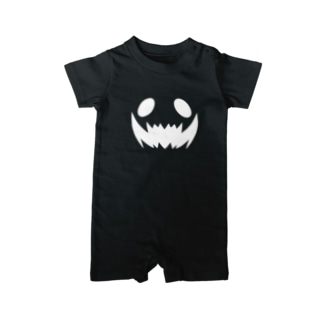 Ghost Face(白) Baby Rompers