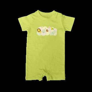 あかえほ│赤ちゃん絵本のWeb図書館 公式グッズ販売の絵本と動物たち【あかえほ公式】 Baby rompers