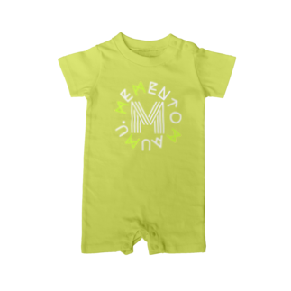 MEMENTO-MAUMUのMMMM Baby rompers