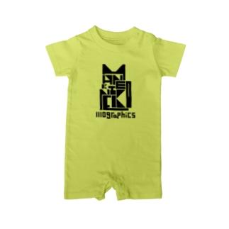 MANEKINEKO / 招き猫 Baby rompers