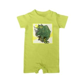 セントロサウルス Baby rompers