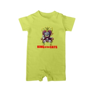 猫の王様 2。 Baby rompers