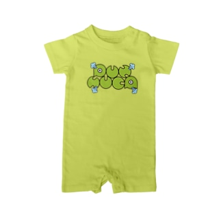 PUNSUCA英字ロゴ Baby rompers