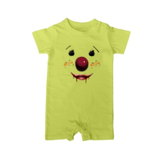 【HELLOWEEN FACE】 Baby rompers