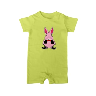 GANG☆STAR ピンキーラビット Baby rompers