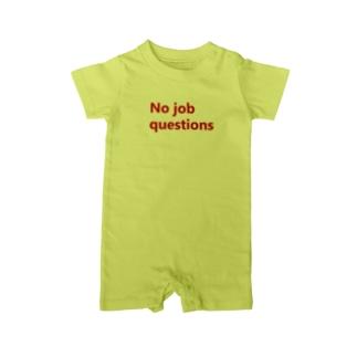 職務質問お断り Baby rompers