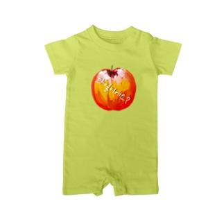 果物ですか? ハングルデザイン Baby rompers