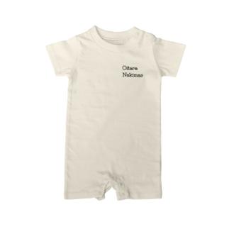 【ロゴ小】Oitara Nakimas Baby rompers