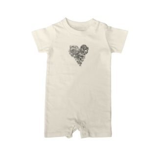 heart tree Baby rompers