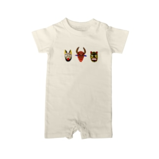 MEXICAN MASK 3 Baby rompers
