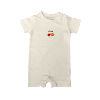 COLOM.【トイプードルリボン!】グッズ! Baby rompers