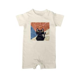 クラフト猫ロイロ Baby rompers