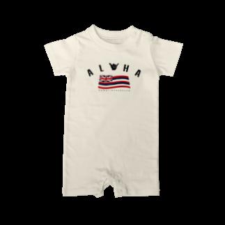 HSC ハワイスタイルクラブのAloha Flag Baby rompers