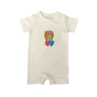 Happy Hearts Baby rompers