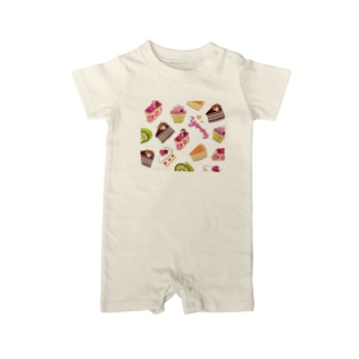 yummy cake Baby rompers