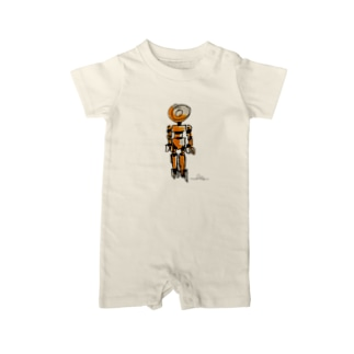 ibeetのロボット5 Baby rompers