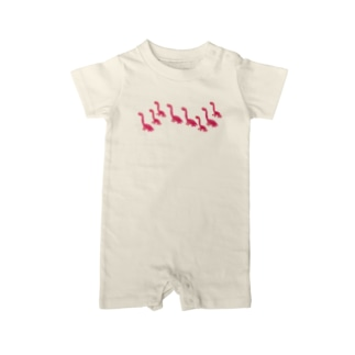 SPACE PINKY DINOSAUR FAMILY Baby Rompers Baby rompers