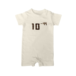 Thank you for your timeの10のマイナス44乗 Baby rompers