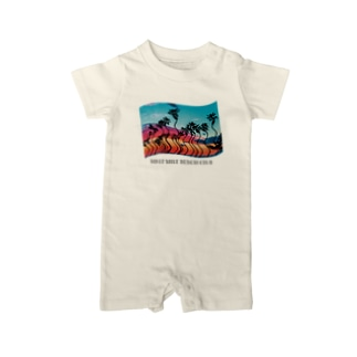BLUE MOON - FLAP Baby rompers