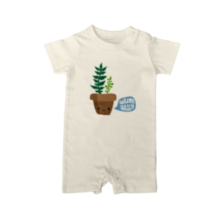 savmakesthingsの可愛い プラント PLANT BBY Baby rompers