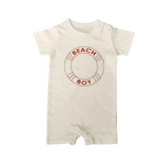 BEACH BOY Baby rompers