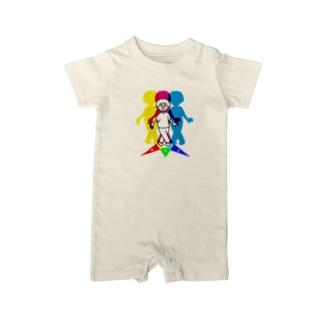 RGB アールジービー 224 Baby rompers