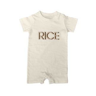 RICE Baby rompers
